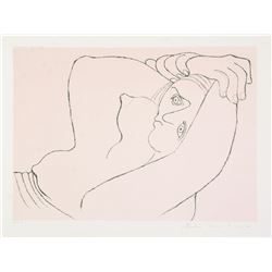 Pablo Picasso, Femme Couchee, Lithograph