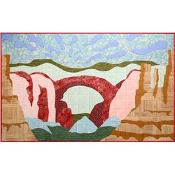 George Green, The Great American Vinyl Landscape - Arches National Park, Vinyl Collage