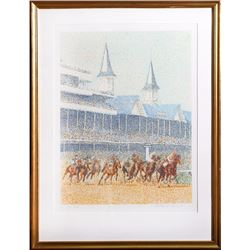 Guillaume Azoulay, Full Field, Serigraph