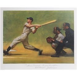Harvey Dinnerstein, Joe DiMaggio from the Sports Illustrated portfolio, Lithograph
