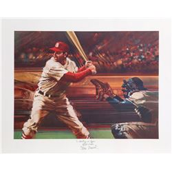 Robert Peak, Stan Musial from the Sports Illustrated portfolio, Lithograph
