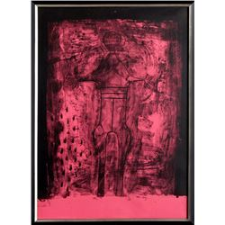 Rufino Tamayo, Affiche avant Lettre from the Mujer Suite, Lithograph