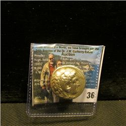 "Alexander ""the Great"" 336-323 B.C. Babylon Mint. AR Tetradrachm. M in the left field and AY below th"