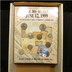 (6) Different large format Color Catalogs of Early American Memorabilia dating 1999-2004.