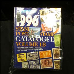"Volumes 1B,3, & 4 of Scott 1996 ""Standard Postage Stamp Catalogue""."