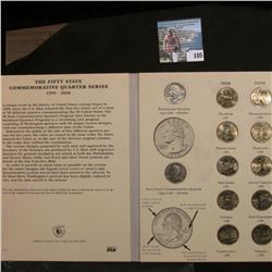52-Coin Set of Gem BU Statehood Quarters in a Littleton Custom Coin Folder.