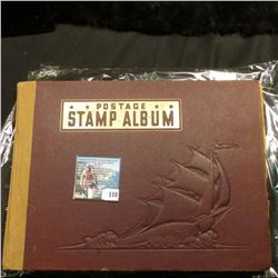 "1935 ""The Modern Collector's Postage Stamp Album"", by Whitman Publishing Company, includes lots of G"