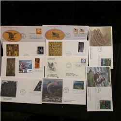 (20) Various First Day Covers dating 1978-2000.