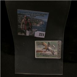 1982 RW49 U.S. Department of the Interior Migratory Bird Hunting Stamp, original gum, unused, VF, NH