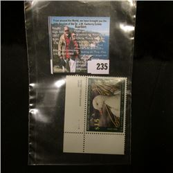 2006 RW73 U.S. Department of the Interior Migratory Bird Hunting $15.00  UL Pane Number single Stamp