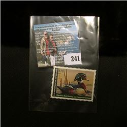 2012 RW79 U.S. Department of the Interior Migratory Bird Hunting $15.00 Stamp, original gum, unused,