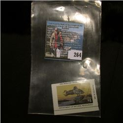 1994 No.23 Iowa Migratory Waterfowl Stamp State Conservation Commission, Mint condition, Unsigned, V
