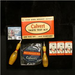 "(3) Antique Boxes of ""Berkeley Blades Be Wise Calvert"", ""Call For Calvert It's S.M.O.O.T.H."" Razor B"