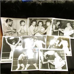 "(25) Different Black & White 8"" x 10"" Photos of some of Boxings Greats."