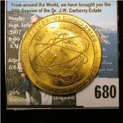 """Peace Through Understanding/1964-1965/New York World's Fair"", Brass, BU, 35 mm."