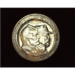 1936 Gettysburg Centennial U.S. Commemorative Half Dollar, MS 65. Mintage 26,928 pieces.