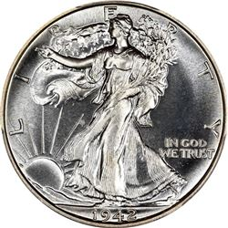 1942 50C. Proof-67 PCGS. CAC.