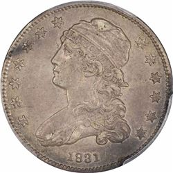 1831 25C. Small Letters. B-2. Rarity-2. AU-55 PCGS.