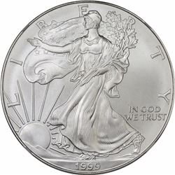 American Eagle Silver $1. MS-70 NGC.