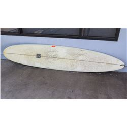 surfboard-Campbell Bros. white longboard