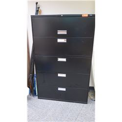 "Lateral Metal Filing Cabinet, HON Approx 42"" x 20"""