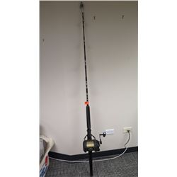 Fishing Rod (Seahawk III) and Shimano Reel (Triton Beast Master 80/130 Two-Speed)