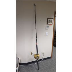 Fishing Rod (Anela) and Gold Reel (Penn Reels 130ST International II)