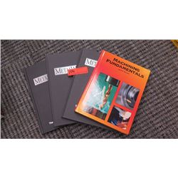Books: Machining Fundamentals, by John R. Walker; Book Three, Book Four and Book Five on Metalworkin
