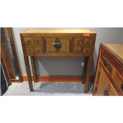 Furniture - Asian Style Hardwood Entry Table w/Drawers