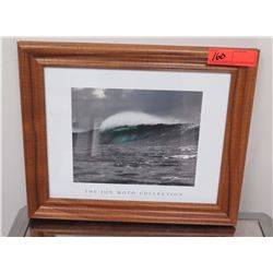 "Framed Art: Photographic Print, Jon Mozo Collection, ""Divine Touch"" Signed"