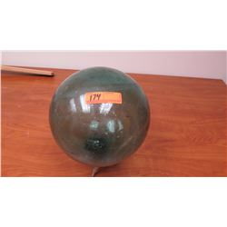 """Glass Ball Fishing Float, Approx. 9"""" dia. (stand not included)"""
