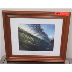 """Framed Art: Photographic Print, Jon Mozo Collection, """"Peaceful Cries"""" Signed 17.25"""" x 14.25"""""""