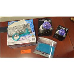 Qty 2 Magnabrite Light Gathering Magnifier & Antworks Ant Farm Kit
