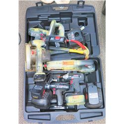 Misc. Power Tools: Cordless Drills, Circular Saw, Portable Light, Battery Chargers, etc.
