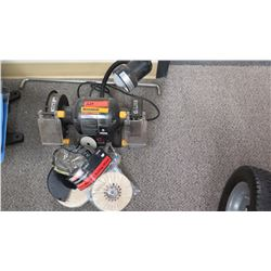Worksmith Power Polisher?, Buffing Wheels, Portable Lamp