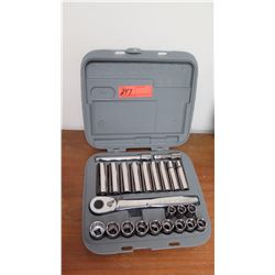 Socket Set w/Gray Case