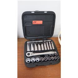 Socket Set w/Black Case
