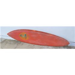Surfboard: Vintage Local Motion, Damaged in Several Areas