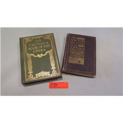 "Books: ""The Victor Book of the Opera"" and ""The Victrola Book of the Opera"" (copyright 1912 & 1924)"