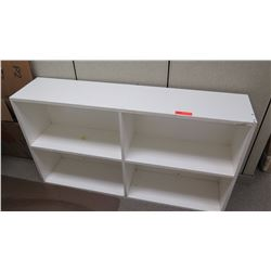 "White Bookcase - 54"" Long, 12"" Depth, 30"" Tall"