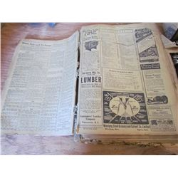 bound monthly editions 1918 Nor-west farmer magazine