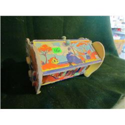 Childs vintage sewing box