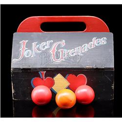 BATMAN (TV SERIES 1966-1968) - Joker Grenade Kit and Grenade Balls