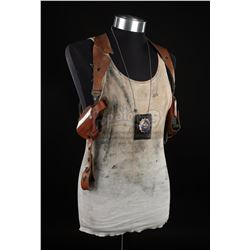 DIE HARD WITH A VENGANCE (1995) - John McClane's (Bruce Willis) Vest, Badge and Holster Rig