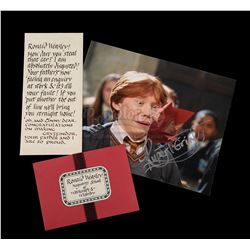 HARRY POTTER AND THE CHAMBER OF SECRETS (2002) - Ron Weasley's (Rupert Grint) Howler