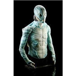 HELLBOY II: THE GOLDEN ARMY (2008) - Abe Sapien (Doug Jones) Prosthetic Appliance Bust Display