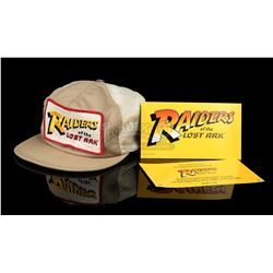 INDIANA JONES AND THE RAIDERS OF THE LOST ARK (1981) - Crew Cap and Screening Passes