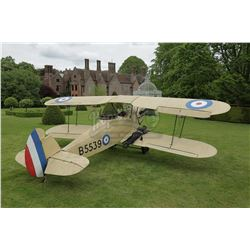 INDIANA JONES AND THE LAST CRUSADE (1989) and MUMMY, THE (1999) - Full-Size Stampe SV.4 Biplane, Tai