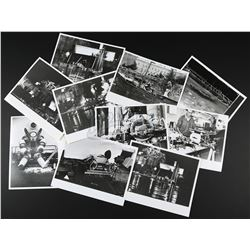 JAMES BOND: FOR YOUR EYES ONLY (1981) - Collection of Ten Set Photographs