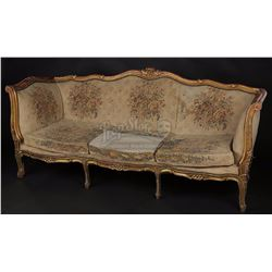KING'S SPEECH, THE (2010) - Lionel Logue's (Geoffrey Rush) Consulting Room Sofa